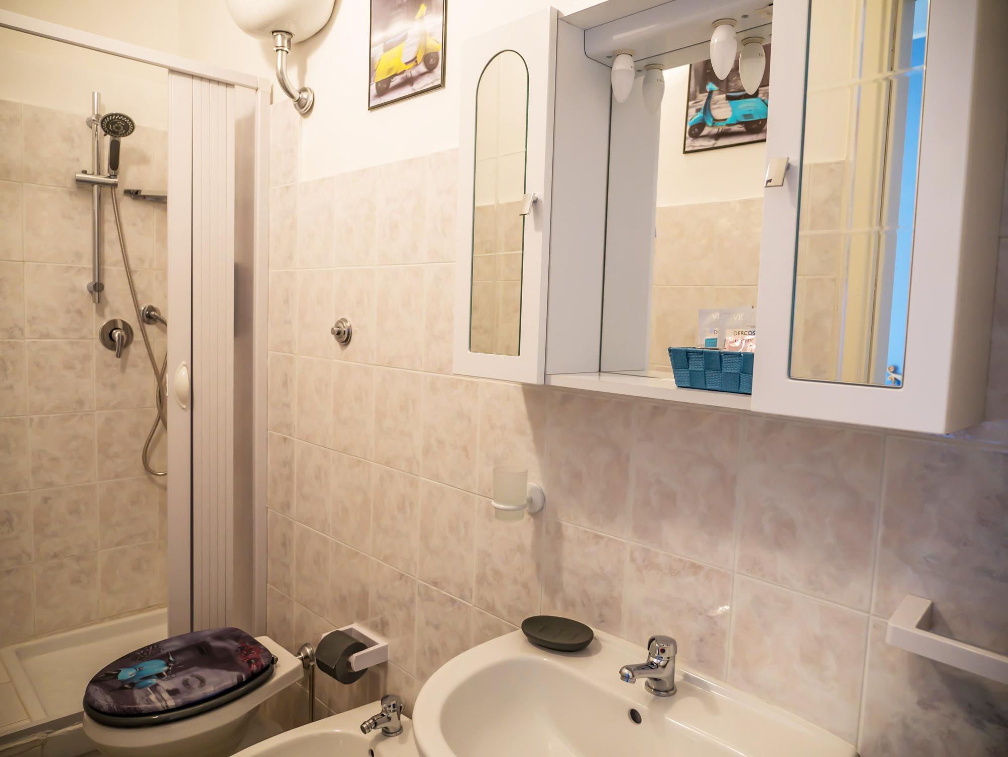 Bagno privato in camera - Le Camere - B&B Roma Centro