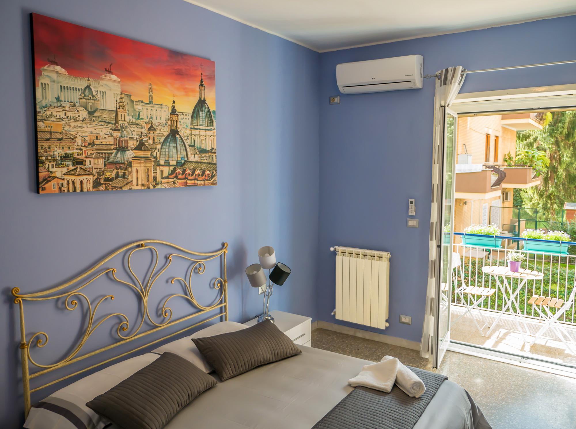 Panoramica della stanza - Le Camere - B&B Roma Centro
