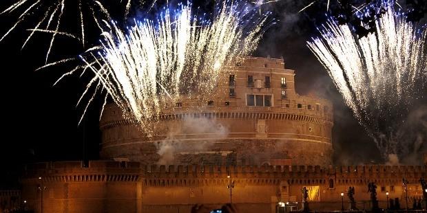 Festa San Pietro e Paolo 2017 a Roma con Fuochi d'artificio