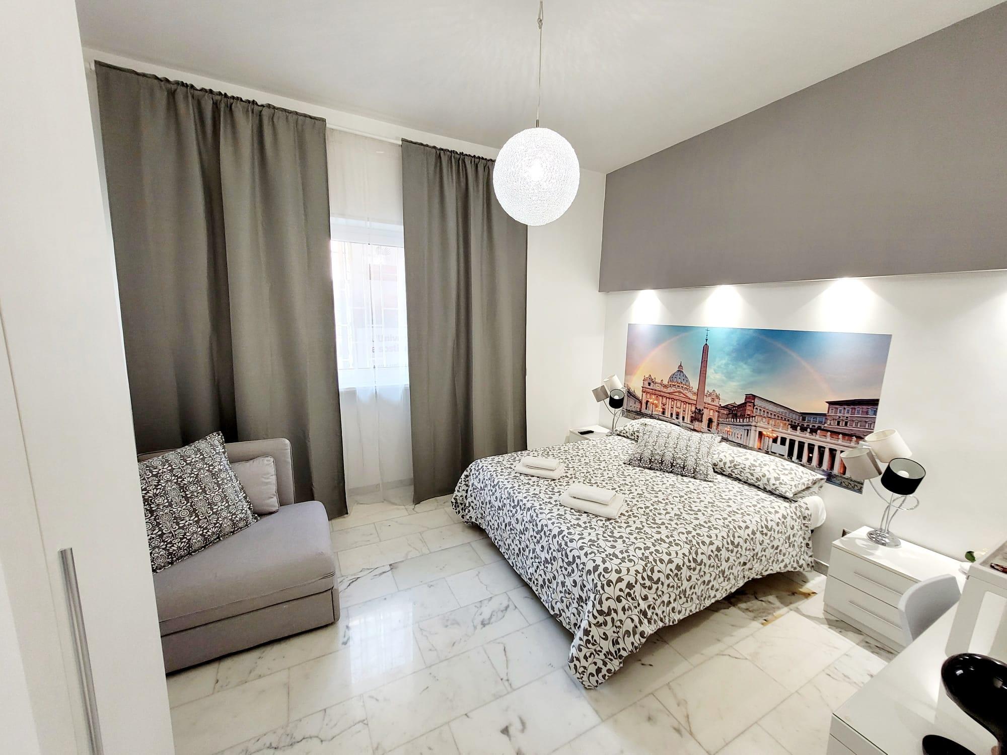 Camera Matrimoniale - Le Camere - B&B Roma Centro